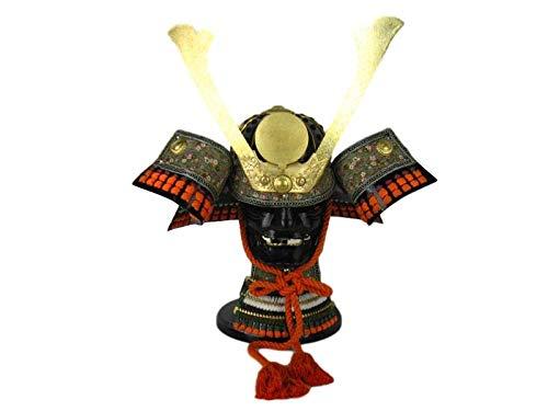 Kunibert Samurai - Casco de samurái de Oda Nobunaga (en Caja de Madera)