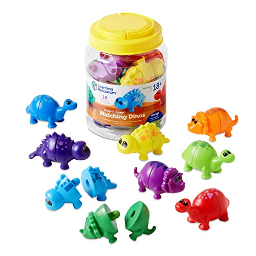 Learning Resources Snap-n Learn Matching Dinos