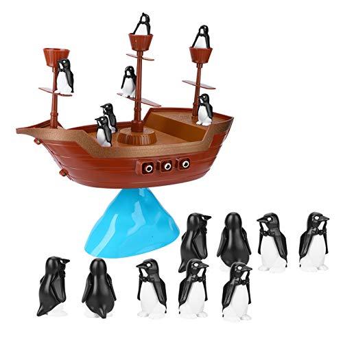 DAUERHAFT Juego de Equilibrio Ligero en 3D Juego de Equilibrio superpuesto Juego de Entrenamiento de Equilibrio, para 3 años en adelante, para Padres e Hijos interactivos
