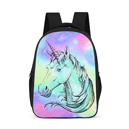 Unicorn Adult's Schoolbags Large All Over Print Sports grey onesize