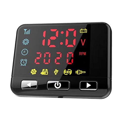 Schildeng All In One 12V 8KW Diesel Luftheizung - Auto Standheizung Klimaanlage Maschine Fernbedienung LCD-Display für LKW-Boot