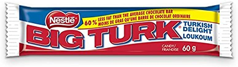 Lot of 10 Big Turk Chocolate Bars Turkish Delight 60 Grams Each From Canada
