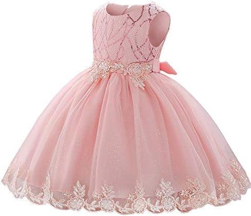 LZH Toddler Princess Flower Dress Baby Girls Birthday Wedding Party Dresses product image