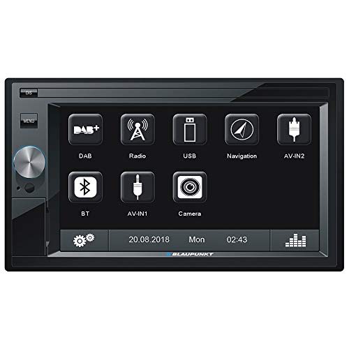 Blaupunkt Oslo 370 - Doppel-DIN MP3-Autoradio mit Touchscreen/DAB/Bluetooth/USB/SD/iPod