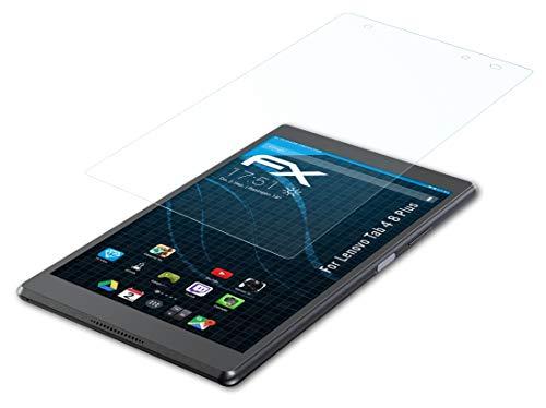 atFolix Schutzfolie kompatibel mit Lenovo Tab 4 8 Plus Folie, ultraklare FX Bildschirmschutzfolie (2X)