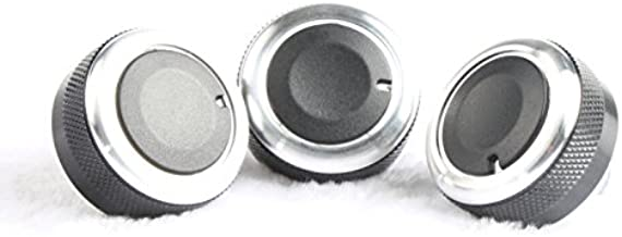 9 Moon Aluminum Alloy Air Condition Knob Control Panel Elegant Switch For Mazda 3 M3 2011-2013