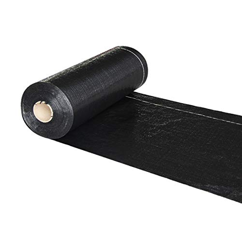 QDTD Tela de Control de Malas Hierbas Resistente a Las Rasgaduras Alta Estabilización a Los Rayos UV para Jardín(Size:2.4 * 100m)