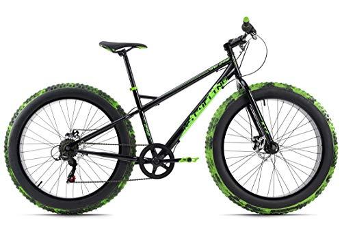 KS Cycling Fatbike 26'' SNW2458 schwarz-grün RH 43 cm