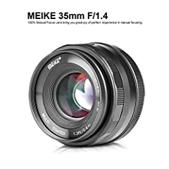 Lens construction: 8 elements 5 groups, aperture range of f1.4-f16 The minimum focusing distance of 0.4mm, focal length of 35mm, equivalent focal length is 52.5mm The APS-C Frame Angle of view is 43°, M4/3 Frame is 35°, filter size of 49mm The weight...