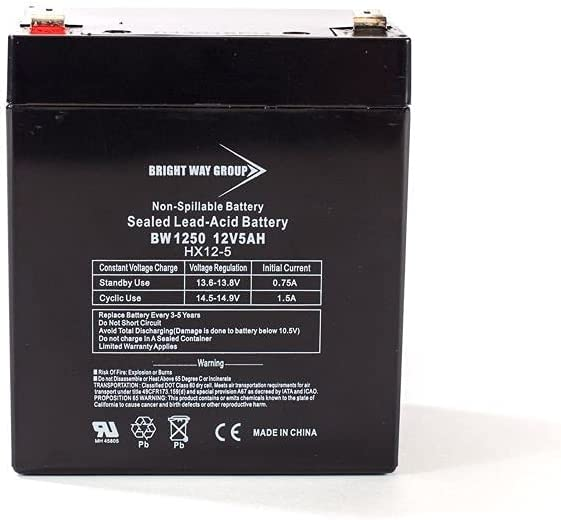 Bright Way Replacement Battery for Product 12V 5AH SLA Xcoot famous