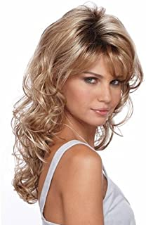 Natural Hairpieces Long Blonde Hair Wig With Female Wig Cap for Everyday Use
