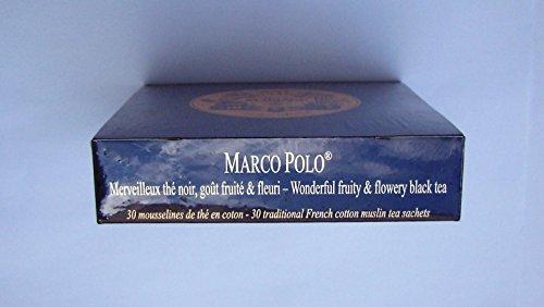 Inconnu Mariage Frères - Marco Polo - Boîte de 30 sachets Mousseline de thé