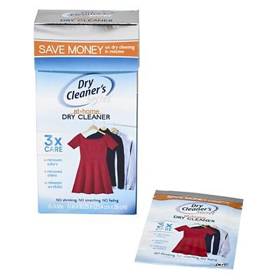 Genuine Dry Cleaner's Secret Tumble Dryer Cleaning Cloths (Pack of 6,...