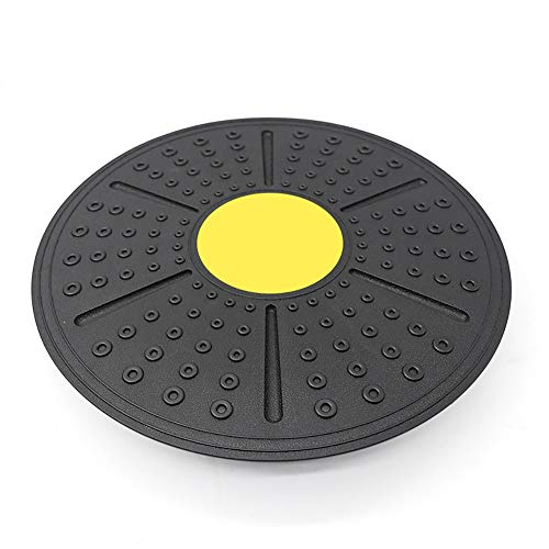 LUNANA Tabla de Equilibrio, Rotación 360 °, Entrenador de Espalda y Tobillo, para Oficina, Yoga, hogar, Fitness, 36 cm