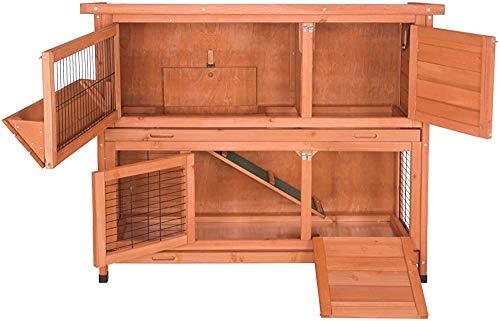 Kaninchen Fall zwei ausfahrbaren Schubladen, Tiergehege, Käfig,Wood