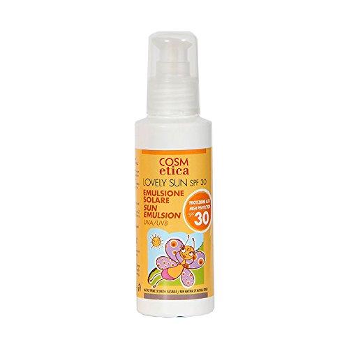 Crema solare ecobio Protezione 30, Lovely Sun Cosm-etica