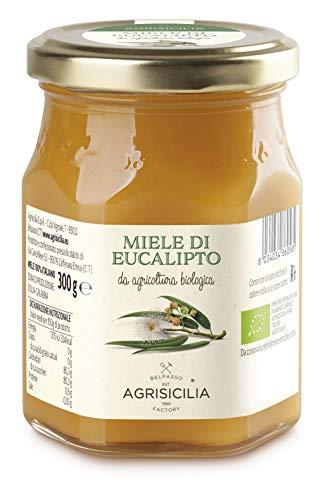 Agrisicilia Miele Di Eucalipto Da Agricoltura Biologica - 300 g