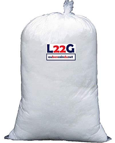 Ouate de Rembourrage Blanche en synthétique, 1 kg, Lavable Jusqu'à 30°C - Neuf