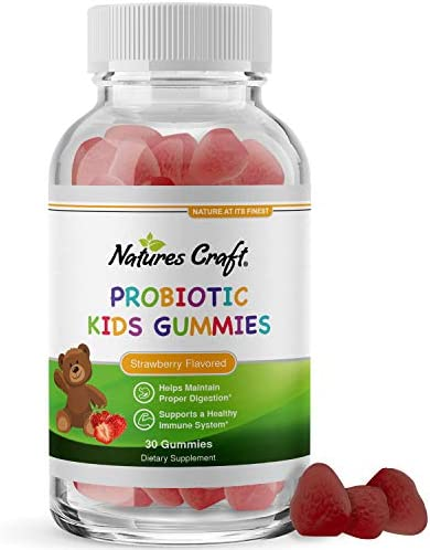Immune Booster Kids Probiotic Gummies Bacillus Subtilis Probiotic for Kids Stomach Relief Body product image