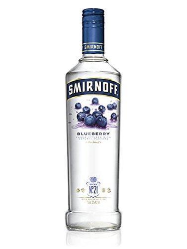 Smirnoff Blue Berry Wodka (1 x 1 l)