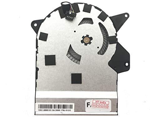 Lüfter Kühler Fan Cooler kompatibel für Asus ZenBook Flip UX360UA-C4122T, UX360UA-C4010T, UX360UAK-BB283T, UX360UAK-BB356T, UX360UAK-BB284T, UX360UAK-BB351T