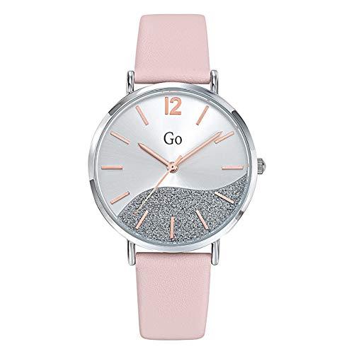 Girl Only - Reloj de pulsera analógico para mujer, color rosa, con correa de piel, UGO699327