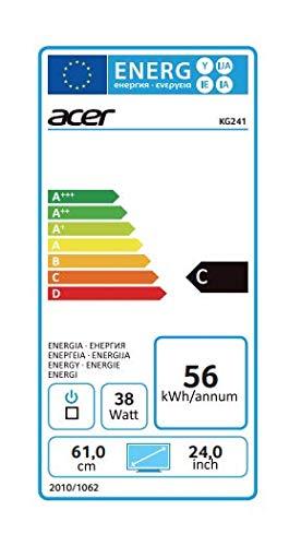 Acer Kg241bmiix 61 Cm Monitor Schwarz Amazon Basics Computer Zubehör