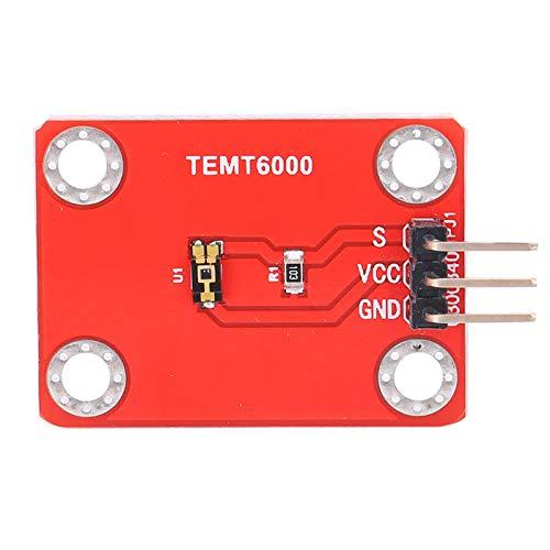 SALUTUYA Compatible con el módulo de Sensor de Intensidad de luz Digital Arduino AVR 3V-5V, para Arduino, Genuino y Raspberry Pi