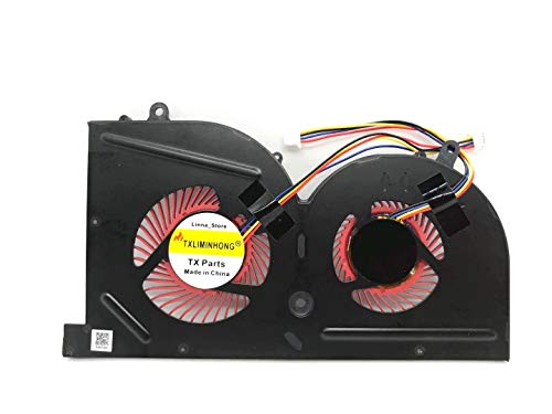 New Compatible for MSI GS63 GS63VR GS73 GS73VR MS-16K2 MS-17B Series Laptop GPU Cooling Fan Part Number BS5005HS-U2L1
