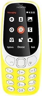 نوكيا 3310 2017 ثنائي شرائح الاتصال - حجم 16 ميجابايت 2 جيجابايت 2 ميجابكسل، باللون الاصفر