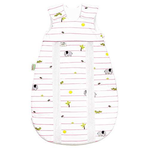 Odenwälder BabyNest Jersey-Schlafsack Primaklima 130 cm 3-6 Jahre, Idealer Allrounder mit integrierten Klimazonen