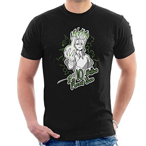 Cloud City 7 10 Billion Percent Sure Dr Stone Men's T-Shirt