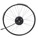 Pwshymi Kit de conversión de Bicicleta Bicicleta de montaña Kit eléctrico Totalmente Impermeable para Instrumento KT-LCD4(Tracción Trasera)