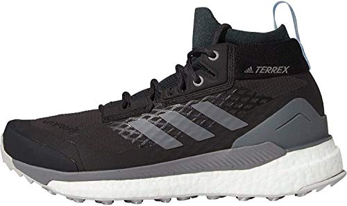 adidas Terrex Free Hiker GTX, Zapatillas para Carreras de montaña Mujer, Carbon/Grefou/Globlu, 40 2/3 EU