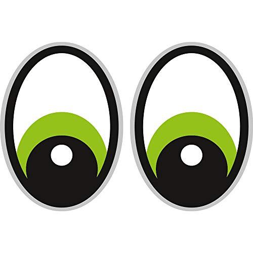 Augen Grün Saugroboter,Aufkleber,Staubsauger Roboter,Sticker,Eye,Stickers,Yeux Rasenmäher Mähroboter