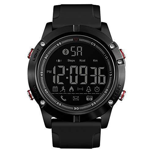 Fusanadarn Sport Calorie Smart Horloge Compatibel Mobiele Telefoon Systeem Waterdichte Stap Herenhorloge