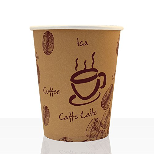 Coffee to go - Hartpapier - Becher 0,3l, 100Stk