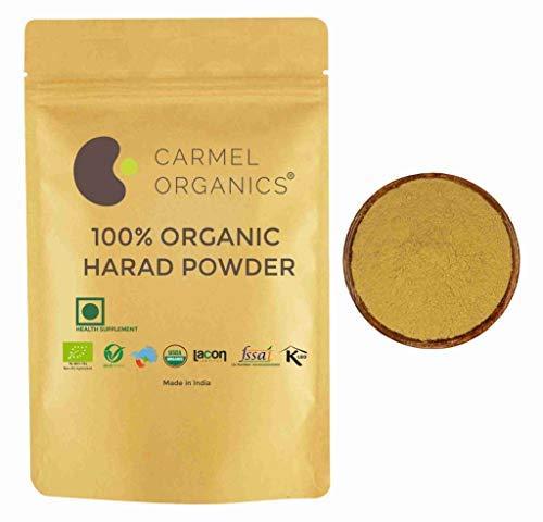 Organic Harad/Haritaki (Terminalia chebula) Powder (12 Oz) - USDA Certified Organic. Non GMO & Gluten Free