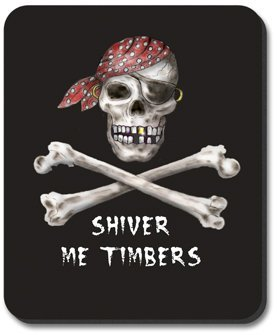 Not Applicable Shiver Me Timbers - Alfombrilla de ratón