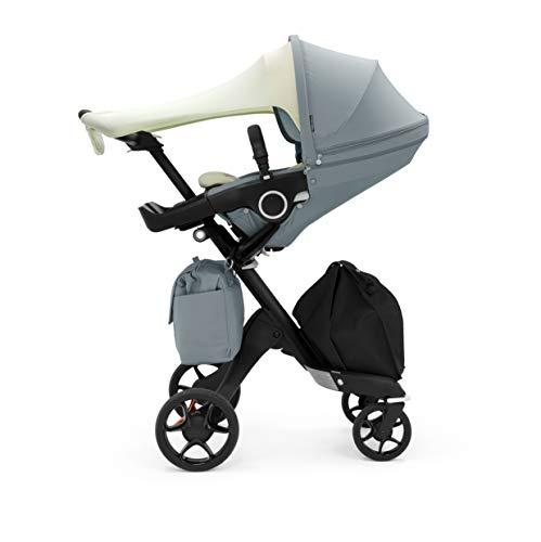 STOKKE® Xplory® Balance Stroller - Limited Edition Multifunktions-Kinderwagen mit schützendem, ergonomischem Sitz - Farbe: Tranquil Blue