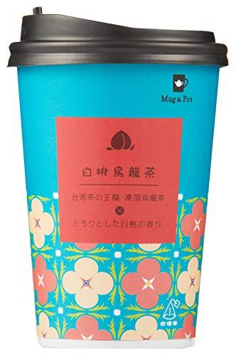 Mug&Pot カップティー白桃烏龍茶 2g ×12個 ティーバッグ