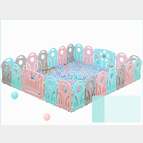 Buy Discount JSFQ Green Town Children's Play Fence Indoor Baby Toddler Safety Fence Baby Home Crawli...