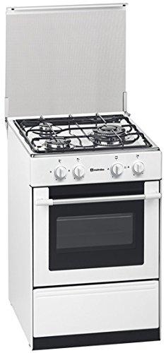 Meireles G 1530 DV - Cocina, Gas butano/propano, 44 L, Giratorio, Frente, Color blanco