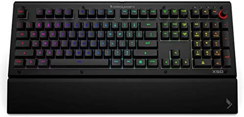 Das Keyboard X50Q Smart RGB Mechanical Keyboard for Work Gaming High Performance Soft Tactile product image