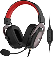 Precisely Clear Audio - Enjoy the real clear and lossless sound quality with 7.1 Surround-Sound technology, creating a field of immersion wherever in game field, listening to alive concert or in a chatroom chat room. The 53mm drivers offer a wider fr...