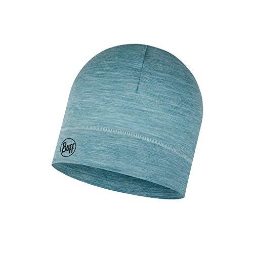 Buff Lightweight Merino Wool Hat Bonnet Mixte, Bleu, Taille Unique