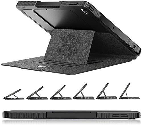 ZtotopHülle iPad 9/8/7 Generation Hülle, Stark magnetisch Schutzhülle mit Stifthalter, Stoßfest Sturzfest Hülle, Automatischem Schlaf/Aufwach für iPad 10,2 Zoll 2021/2020/2019, Schwarz
