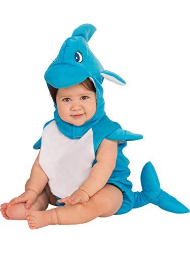 Rubies 510555-T - Disfraz infantil de Delfin para niño, 1-2 años