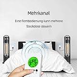 NASHONE Thermostat Steckdose Wireless Steckdosenthermostat, Infrarotheizung Thermostat mit Zeitschaltuhr, Heizung- und Kühlmodus. 3680W - 6