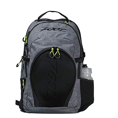 Zoot Ultra Tri Backpack - Canvas Gray Triathlon Transition Bag for Men & Women